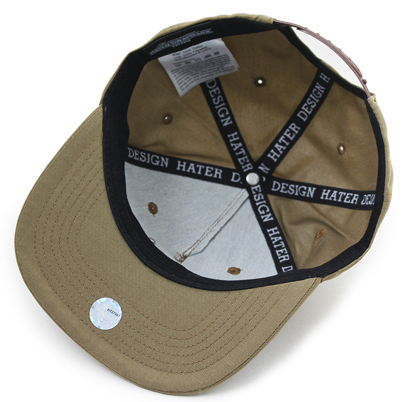 헤이터 코듀라 클래식 로고 스냅백 카키 HATER Cordura Classic Logo Snapback Khaki